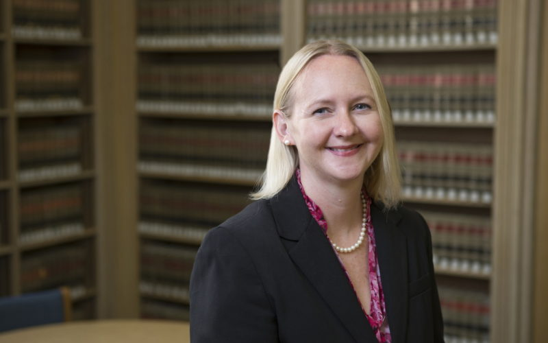 Law Library Director Professor Heidi Frostestad Kuehl